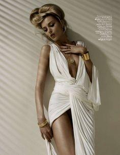 Sexy Greek inspired dress