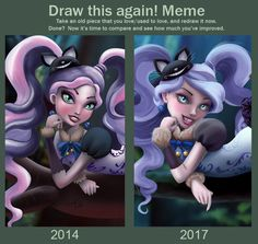 Meme  Before And After Kitty by Kennienoname.deviantart.com on @DeviantArt