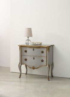 French Two Drawer Chest   Hooker Furniture   Home Gallery Stores