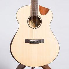 AVIAN IBIS MAHOGANY / SITKA SPRUCE DEMI CUTAWAY FULL BEVEL - NON ELECTRO - The North American Guitar