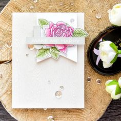 Altenew | Bold Blossom Cards. Blog Hop + Giveaway | | Yana Smakula