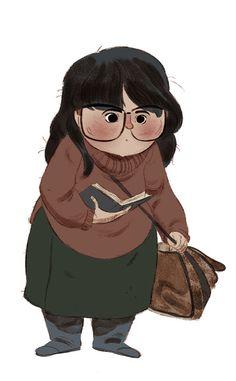 bibliolectors:  What are you reading? / Qué lees? (ilustración de Mai Egurza)