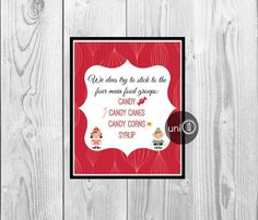 Buddy The Elf Movie Quote Print Christmas Art by UniQCreations, $5.00