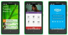 Nokia's first Android smartphone's UI shown off in new leaked photos