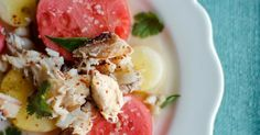 The Cilantropist: Thai Crab and Watermelon Salad
