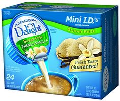 International Delight French Vanilla, 24 Count Single-Serve Coffee Creamers (Pack of 6) -- Be sure to check out this awesome product.