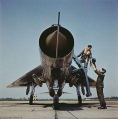 Lightning F3 XP741 of 111 Squadron, RAF Wattisham, 1965.