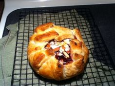 Baked Brie In Puff Pastry With Apricot Or Raspberry Preserves Recipe - Food.com: Food.com