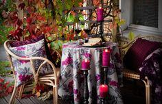 Pentik Ikea Fabric, Marimekko, Fabrics, Colours, Table Decorations, Fall, Furniture, Design, Home Decor