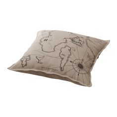 BENZY LAND Cushion IKEA Cover is made of ramie; a hard-wearing and absorbent natural material. Reversible; a different design on each side. $12.99 -- for the window seat.