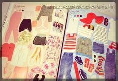Livre jeunesse - J'habille mes amies - créatrice de mode - collection Paris - stickers - autocollants - Editions Usborne