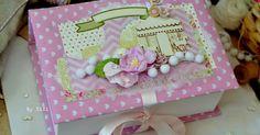 ZiZiркалье: Сокровищница для принцессы и весенняя открыточка