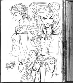 The Art of Allison Smith - Sketches