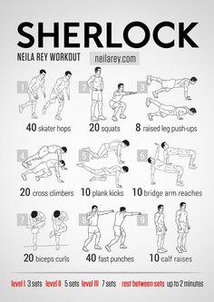 Sherlock Workout