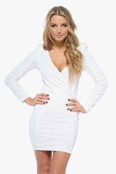http://www.ustrendy.com/store/product/81028/cream-v-neck-sequin-long-sleeve-dress