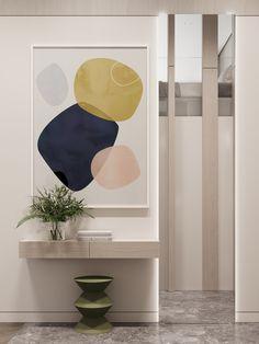 Hallway #hallway #modernhallway #minimalistichallway #minimalism #minimalisticarchitecture #minimalisticinterior #architecture #modernarchitecture #design #moderndesign #ideasforhallway Modern Hallway, Minimalist Interior, Modern Architecture, Modern Design, Painting, Home Decor, Minimalism, Porch, Balcony