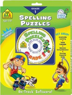 Spelling Puzzles 1 Language Arts Games, Language Arts Worksheets, Language Development, Bulletin Board Borders, Reference Letter Template, Tracking Software, Activity Games, Spelling, Puzzles