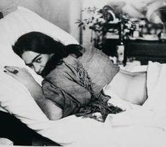 Frida en blanco &negro