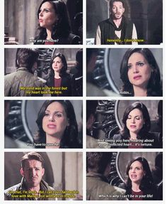 """Robin is starting to get on my last nerve, the way he's pushing Regina and making things harder for her. That is NOT love. That's selfishness. As to Marian - get Roland to kiss her. We've established in this show that parent-child kisses can count as """"true love."""""""