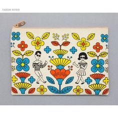 Oohlala Tabom retro canvas zipper pouch bag (http://www.fallindesign.com/oohlala-tabom-retro-canvas-zipper-pouch-bag/)