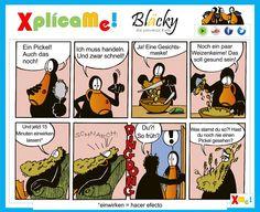 Nuevo episodio con nuestro amiguito.. Aprendiendo alemán en www.facebook.com/xplicame