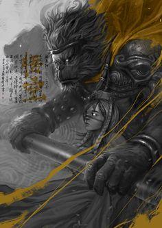 """Wu Kong"" by KAEL NGU - #Art #LoveArt http://wp.me/p6qjkV-fWd"