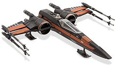 Official Disney Star Wars Force Awakens Poe's X Wing Fighter Die Cast Vehicle by Disney: Amazon.fr: Jeux et Jouets