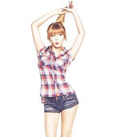 cute Hyuna :3 | via Tumblr