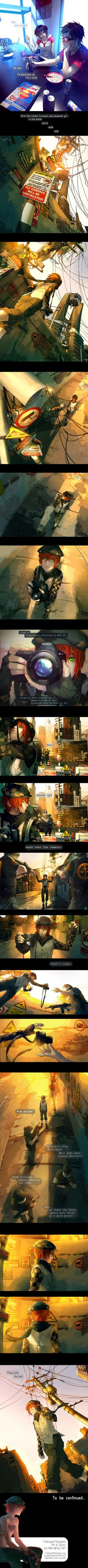 Fisheye Placebo: Ch0 - Part 4 by yuumei on deviantART