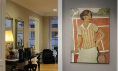 Original Sport Painting by Svetlana Kurmaz Canvas Size, Oil On Canvas, Canvas Art, Sports Painting, Tennis Players, Original Paintings, Art Deco, Interior Design, The Originals