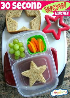 Great ideas for packing great school lunches that your kids will eat. Many of these ideas are simple and don't even take any extra time in your busy morning!