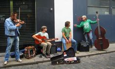 Street Band - Temple Bar - Dublin, Ireland