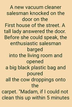A salesman trying to be over smart | Women Jokes, Knock On The Door, Knock Knock