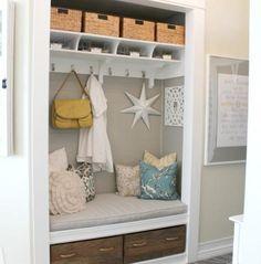 DIY organizing - a perfectly new & organized entry hallway! Tip Tuesday | NEAT Method #diy #neatmethod