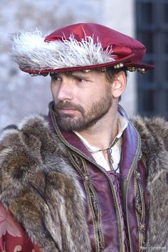 Eric Bana as King Henry VIII in, The Other Boleyn Girl  ~ a rather banal film, over-ridden with desperate inaccuracies & B-rated acting. The only thing that excuses their casting of Eric Bana as Henry VIII is his intense charm & overwhelming good looks, because he's by far & away the 2nd worst Henry VIII there ever was (Jonathan Rhys Meyers beating him out for title of worst Henry VIII) proving that it's all about good looks & viewer ratings over accuracy. And that's all I have to say about that