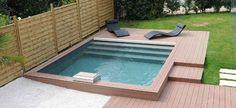 Reportage photo piscine carree à Lyon