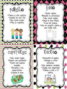 The Second Grade Superkids: Super Expectations Bilingual Kindergarten, Bilingual Classroom, Bilingual Education, Spanish Classroom, Kindergarten Classroom, Kindergarten Activities, Dual Language Classroom, Classroom Rules, Classroom Ideas