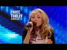 What a lovely version by a little girl.. Paige Turley Skinny Love - Britain's Got Talent 2012 audition.