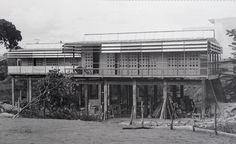 Jean Prouve, Maison Tropicale, 1950s.