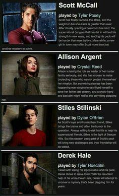 Teen Wolf Boys, Teen Tv, Teen Wolf Dylan, Teen Wolf Cast, Scott Mccall, Wolf Character, Wolf Stuff, Tyler Posey, Sterek