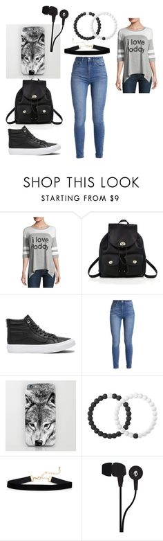"""""""To The Movies"""" by midnightfall02 on Polyvore featuring Peace Love World, Coach, Vans, Lokai and Skullcandy"""