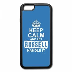 keep calm and let russell handle it 1 iPhone 7 Plus Case