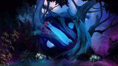 Download Dota 2 Game Logo Forest Wallpaper HD 1920x1080