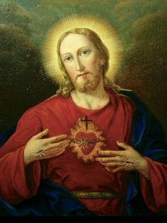 Jesus Prayer, Jesus Art, Pictures Of Jesus Christ, Names Of Jesus, Jesus E Maria, Mama Mary, Jesus Painting, Holy Quotes, Jesus Calling