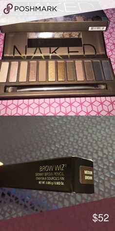 NAKED & Brow Whiz NAKED & Brow Whiz Urban Decay Makeup Eyeshadow