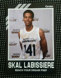 2015 Skal Labissiere High school Kentucky 2016 NBA Draft Lottery Pick custom rc in Sports Mem, Cards & Fan Shop, Cards, Basketball | eBay