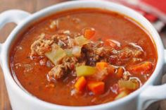 Healthy Vegetable Beef Soup
