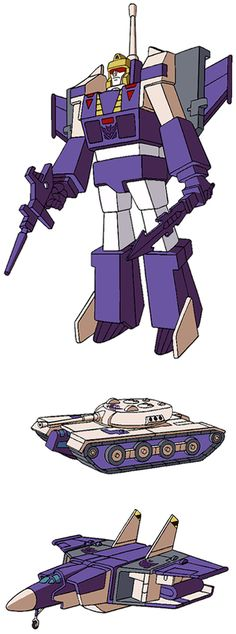 Blitzwing - this guy (admittedly one of my favorites to play with as a kid) is in my closet still in the box, as a present, and I'm not sure what to do with him, since I'm too lazy to ebay.