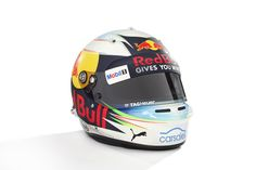 Daniel Ricciardo, Red Bull Racing at 2017 drivers helmets High-Res Professional Motorsports Photography Formula 1 2017, F1 2017, Daniel Ricciardo, Red Bull Racing, F1 Drivers, Motogp, Helmets, F1 News, Sports
