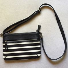Black & White Crossbody Bag Black & White Crossbody Bag. Bags Crossbody Bags
